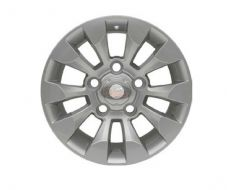 "LAND ROVER DEFENDER SAWTOOTH STYLE ALLOY WHEEL SILVER 18""X 8"" (1)- DA6549"